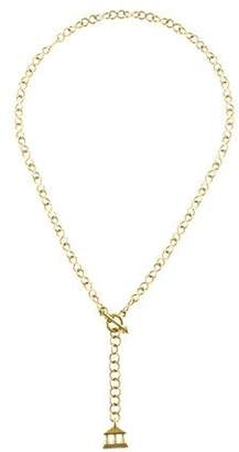 Temple St. Clair 18K Charm Toggle Necklace