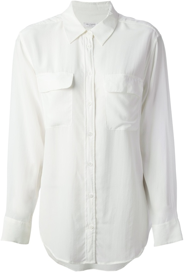 Equipment button down shirt