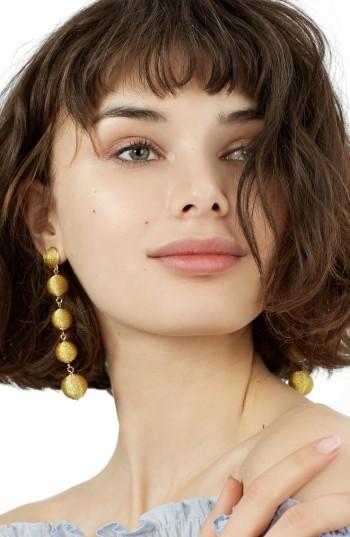 Women's Baublebar Metallic Crispin Ball Statement Earrings 4