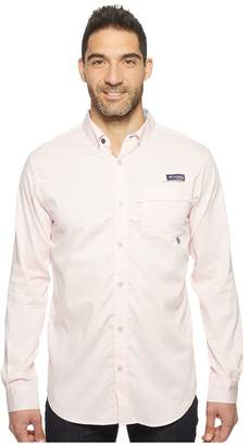 Columbia Super Harborside Slim Fit Woven Long Sleeve Shirt Men's Long Sleeve Button Up
