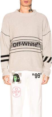 Off-White Off White Cotton Sweater