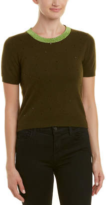 Chanel Brown Cashmere Top (Size M)