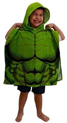 Marvel Avengers Hulk Cotton Hooded Bath/Beach Poncho Towel