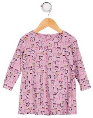 Egg Girls' Printed Long Sleeve Top
