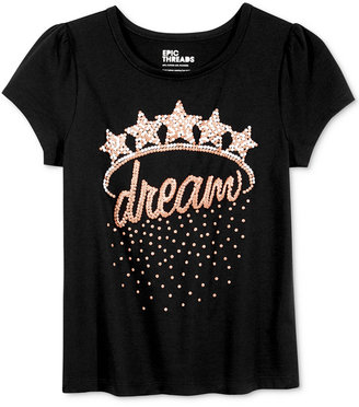 Epic Threads Mix and Match Graphic-Print T-Shirt, Toddler & Little Girls (2T-6X), Only at Macy's $16 thestylecure.com