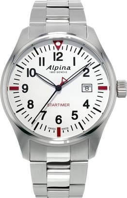 Alpina Geneve Startimer Pilot Dial Stainless Steel Men's Watch AL-240S4S6B