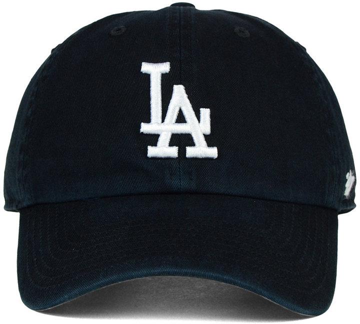'47 Brand Los Angeles Dodgers Core Clean Up Cap 3
