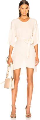 Raquel Allegra Belted Boxy Dress