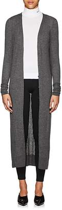 Calvin Klein WOMEN'S RIBBED CASHMERE FITTED LONG CARDIGAN