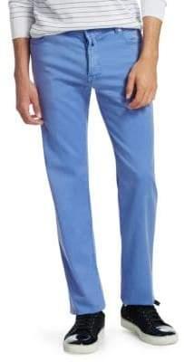Kiton Slim-Fit Five-Pocket Pants
