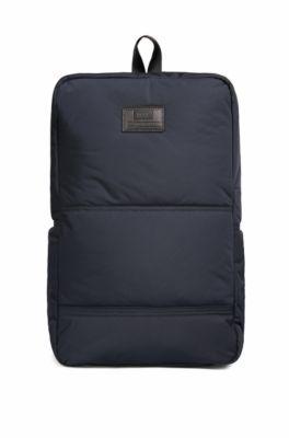 Hugo Boss Bomber Backpack Nylon Backpack One SizeBlue $255 thestylecure.com