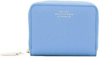 Smythson zip up wallet