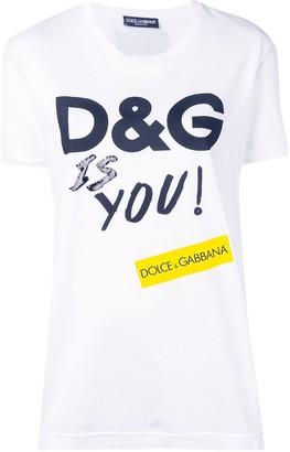 Dolce & Gabbana (ドルチェ & ガッバーナ) - Dolce & Gabbana ロゴ Tシャツ
