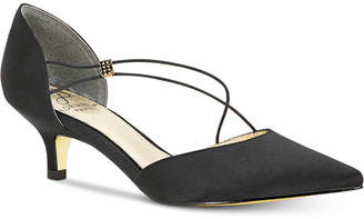 Adrianna Papell Lacy Evening Pumps Women Shoes