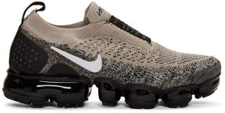 Nike Black and White Air VaporMax FK MOC 2 Sneakers