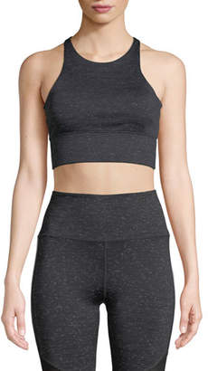 Monroe Nylora Racerback Performance Crop Tank Top