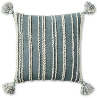 Lucky Brand 22x22 Stripe Decorative Pillow