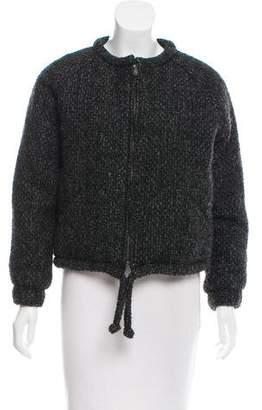 Etoile Isabel Marant Wool Bomber Jacket