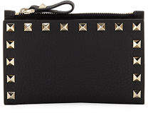 Valentino Rockstud Coin Purse/Card Case