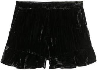 H&M Velvet Shorts - Black