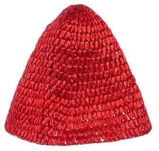 Dolce & Gabbana Straw Bucket Hat