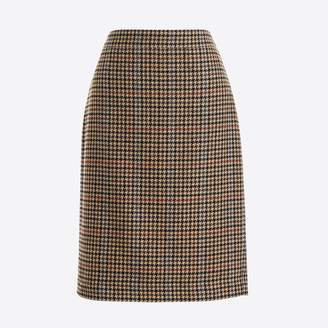 J.Crew Factory Pencil skirt in houndstooth
