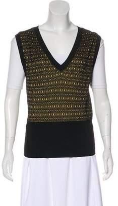 Louis Vuitton V-Neck Knit Vest