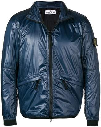 Stone Island metallic padded jacket