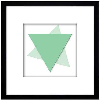 PTM Images Geo Triangle Wall Art