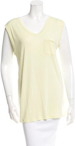 T by Alexander Wang Scoop Neck Knit Top w/ Tags