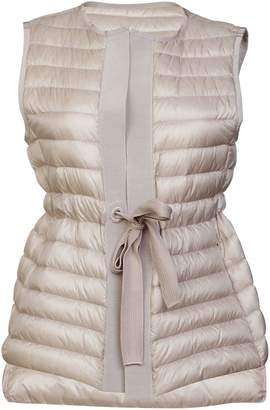 Moncler Tie Waist Padded Gilet