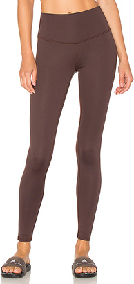 Touche LA x MORGAN STEWART High Rise Legging in Brown $102 thestylecure.com