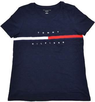 Tommy Hilfiger Women's Big Logo Line T-Shirt (M, )