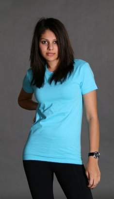American Apparel 2102 - Ladies Fine Jersey Short-Sleeve T-Shirt