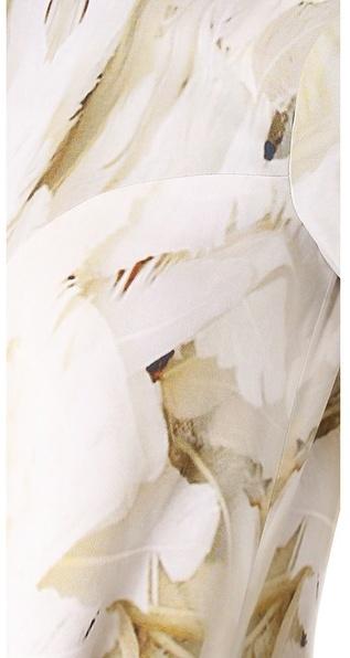 Monique Lhuillier Seamed Swing Dress