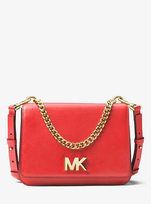 Michael Kors Mott Leather Crossbody Bag