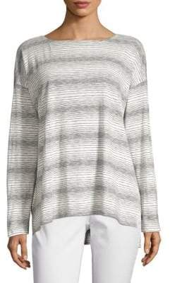 Eileen Fisher Gradient Stripe Shirt