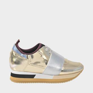 Philippe Model Classic glitter sneaker