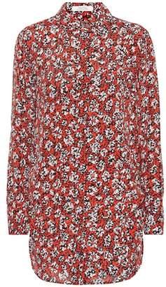 Schumacher Dorothee Daydream Meadow silk-blend shirt