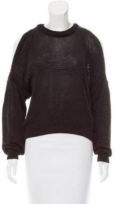 Designers Remix Charlotte Eskildsen Cold-Shoulder Open Knit Sweater