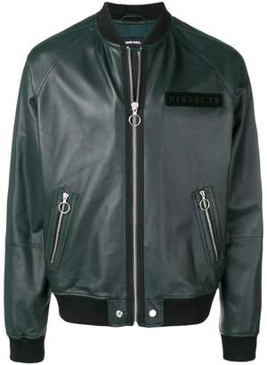 L-Pins-A leather jacket