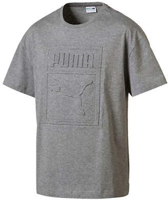 Puma Archive Embossed Print T-Shirt