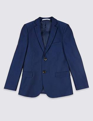 Marks and Spencer Notch Lapel 2 Button Jacket (3-16 Years)