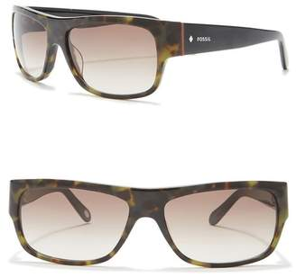 Fossil Polarized 59mm Sunglasses