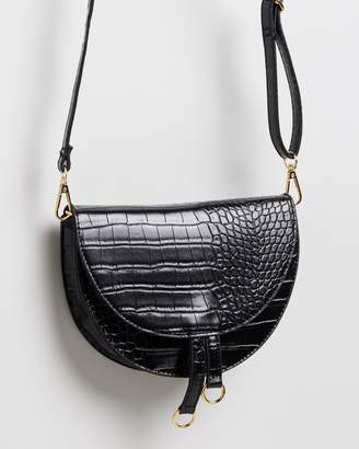 Missguided Mini Ring Detail Cross-Body Bag