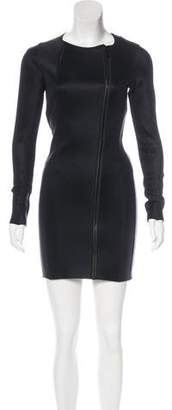 Lisa Marie Fernandez Bodycon Zip-Up Dress