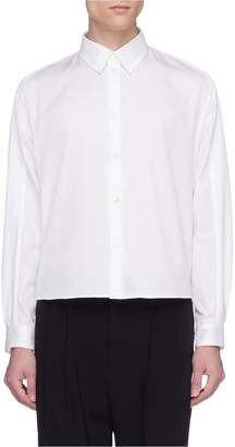 GOETZE 'Dieter' side split cropped shirt