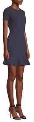 LIKELY Beckett Ruffle-Hem Bodycon Dress