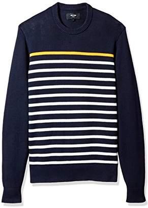 Jack Spade Men's Breton Stripe Crewneck Sweater