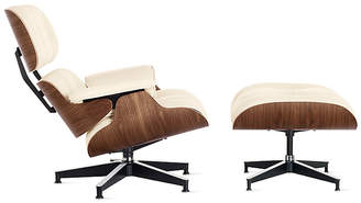 Design Within Reach Herman Miller Eames Lounge Chair and Ottoman, Offwhite at DWR